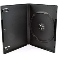 DVD plastic case black