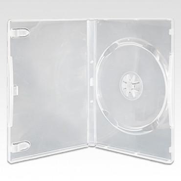 DVD plastic case semi-transparent