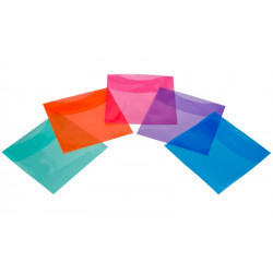 DVD coloured protective sleeves