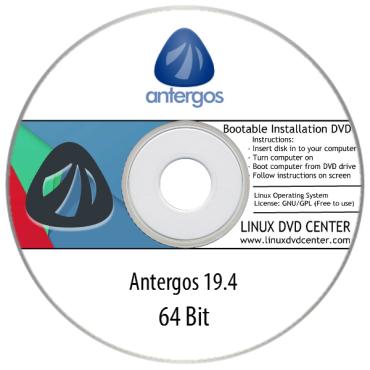 Antergos Linux 19.4 (64Bit)