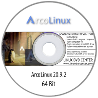 ArcoLinux v20.9.2 (64Bit)