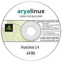 AryaLinux 2.4 (64Bit)