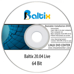 Baltix Linux 20.04 Edu Desktop Live (64Bit)
