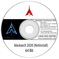 "Blackarch 2020 ""Netinstall"" (64Bit)"