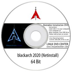 "Blackarch 2020 ""Netinstall"" (64Bit)"