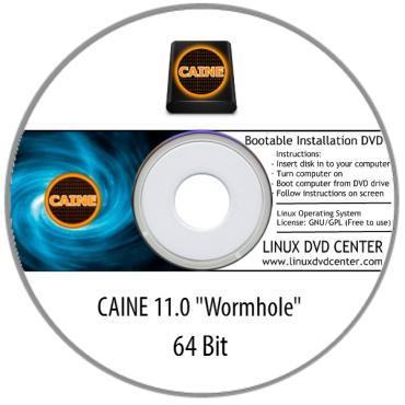 "CAINE 11.0 ""Wormhole"" (64Bit)"