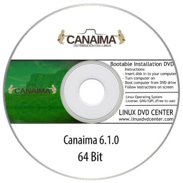 Canaima Linux 6.1.0 (32/64Bit)