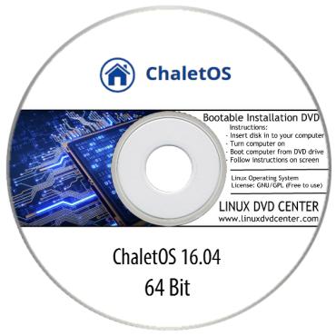 ChaletOS 16.04 Live (32/64Bit)
