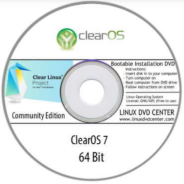 """ClearOS Linux 7 """"Community Edition"""" (64Bit)"""