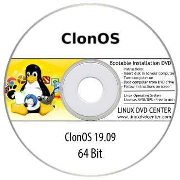 ClonOS Linux 19.09 Live (64Bit)
