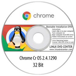 Chrome Cr OS 2.4.1290 (32Bit)