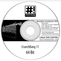 CrunchBang Linux 11 (32/64Bit)
