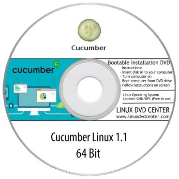 Cucumber Linux 1.1 (32/64Bit)