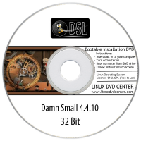 Damn Small Linux 4.11.RC2 (32Bit)
