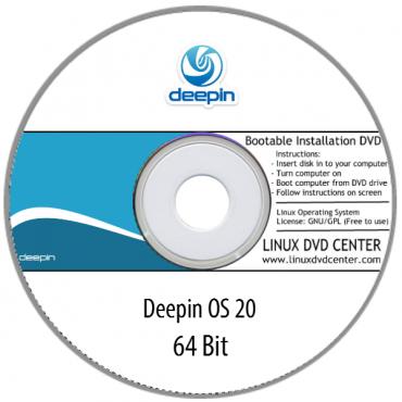 Deepin OS 20 Live (64Bit)