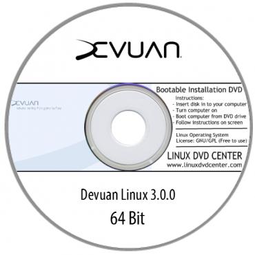 """Devuan 3.0.0 """"Desktop Live"""" (64Bit)"""