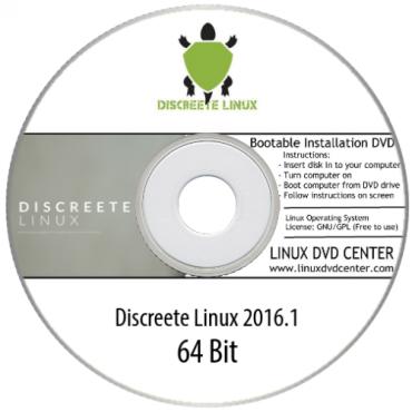 Discreete Linux 2016.1 (64Bit)