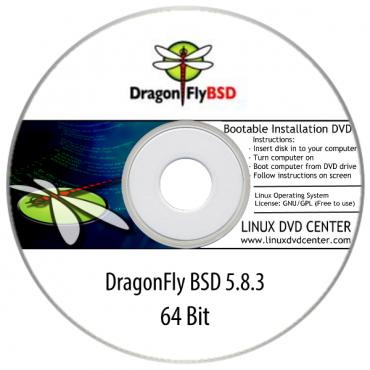 DragonFly BSD 5.8.3 (64Bit)