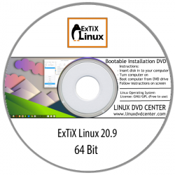 ExTiX Linux 20.9 KDE Plasma with Anbox (64Bit)