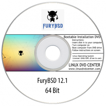FuryBSD Linux 12.1 (64Bit)
