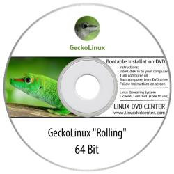 """Gecko Linux """"Rolling"""" (64Bit)"""