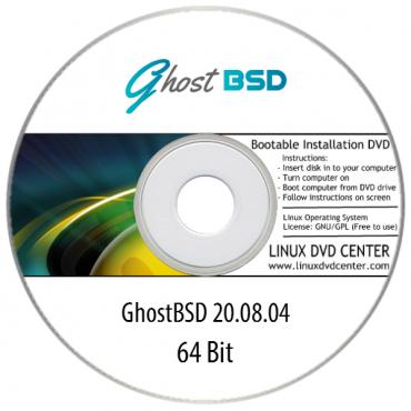 GhostBSD Live 20.08 (64Bit)