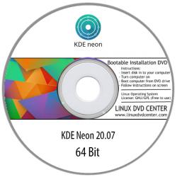KDE neon Linux 20.07 Live