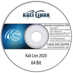 Kali Linux 2020 Desktop Live (32/64Bit)