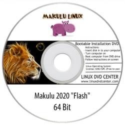 """Makulu Linux 2020 """"Flash"""" (64Bit)"""