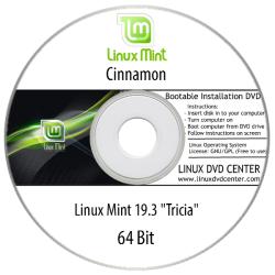 """Linux Mint 19.3 """"Tricia"""" (32/64Bit)"""