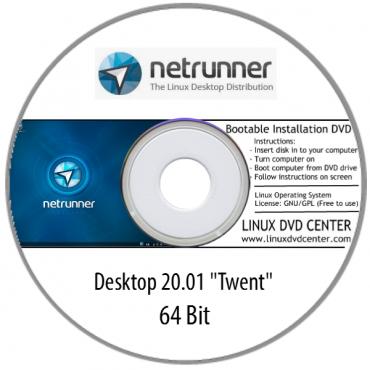 Netrunner 20.01 (64Bit)