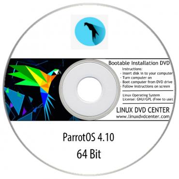 Parrot OS  4.11.1 (64Bit)