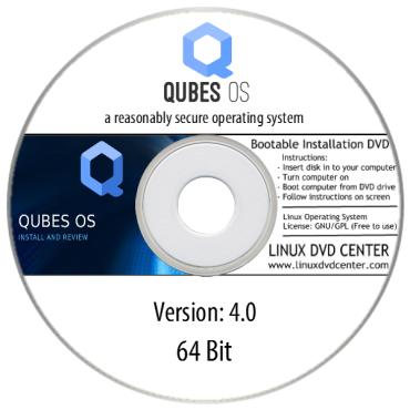 Qubes OS 4.0 Live