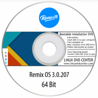 "Remix OS 3.0 ""Android for PC & Laptop"" (32/64Bit)"