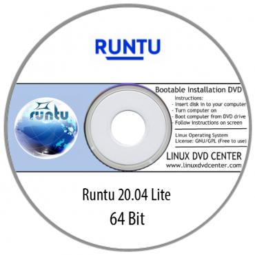 Runtu Lite 20.04 Live (64Bit)