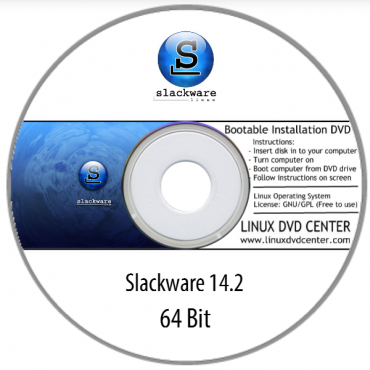 Slackware Linux 14.2 (32/64Bit)