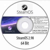 SteamOS 2.0 GNOME Desktop (64Bit)
