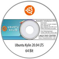 "Ubuntu Kylin 20.04 LTS ""Focal Fossa"" (64Bit)"