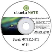 """Ubuntu MATE 20.04 LTS """"Focal Fossa"""" (64Bit)"""