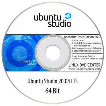 Ubuntu Studio 20.04, 21.04 LTS (64Bit)
