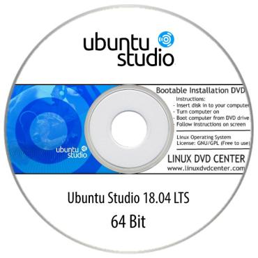 "Ubuntu Studio 18.04 LTS ""Bionic Beaver"" (32/64Bit)"