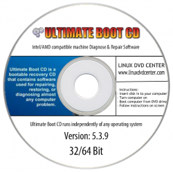 Ultimate Boot CD V.5.3.9 (32/64Bit)