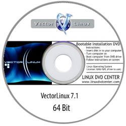 Vector Linux 7.1 (64Bit)
