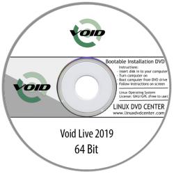 Void Linux Live 2019 (32/64Bit)