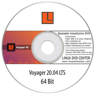 Voyager Live 20.04 LTS (32/64Bit)