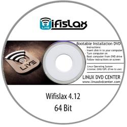 Wifislax 4.12 Wireless Hacking Penetration OS (64Bit)