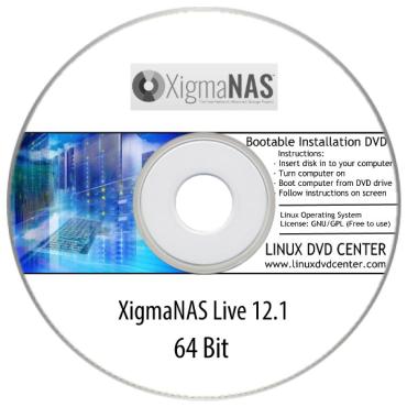 XigmaNAS Live 12.1 (64Bit)