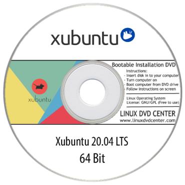 Xubuntu 20.04, 20.10 (64Bit)