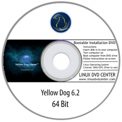 Yellow Dog Linux 6.2 (64Bit)
