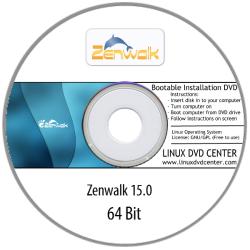 Zenwalk Desktop 15.0 (64Bit)
